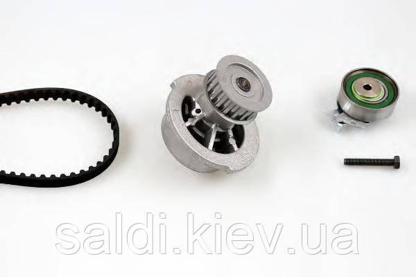 Комплект ремня ГРМ + помпа HEPU  PK03121 Киев