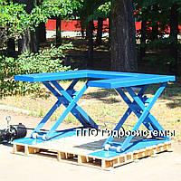 Низкопрофильный ножничный подъемный стол, фото 1