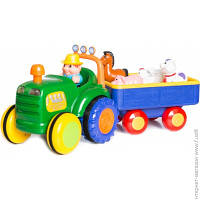 Развивающая Игрушка Kiddieland Трактор-ферма (свет, звук, русс.) (49726)