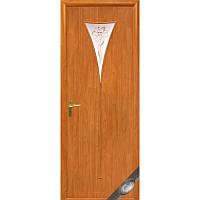 Двери межкомнатные Новый стиль Бора ольха 3d ПО+Р1