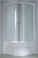 Душевая кабина Keramac 8140 80х80х194 см , профиль белый/стекло fabric