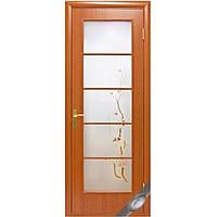 Двери межкомнатные Новый стиль Виктория ПО+Р3 (ольха 3d)