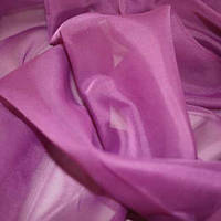 Тюль Вуаль Фиолет, однотонная + высококачественный пошив