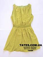 Шифоное женское платье