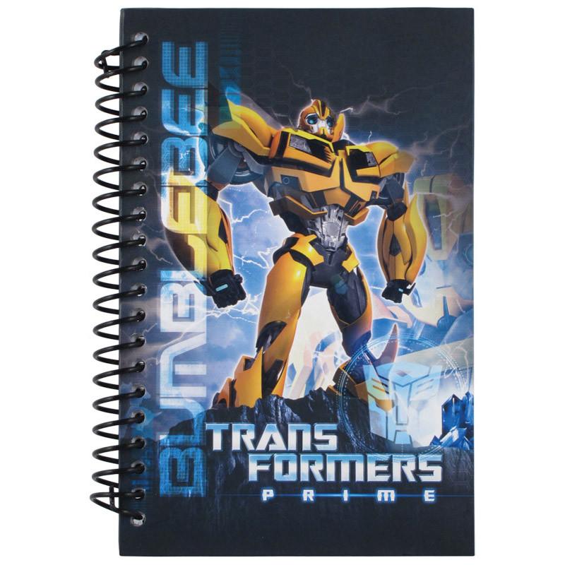 Блокнот Transformers, 80 листов, А5-