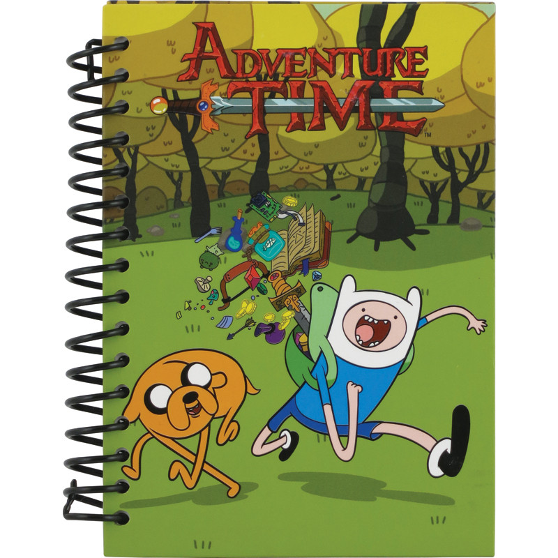 Блокнот Adventure Time, 80 листов, А6