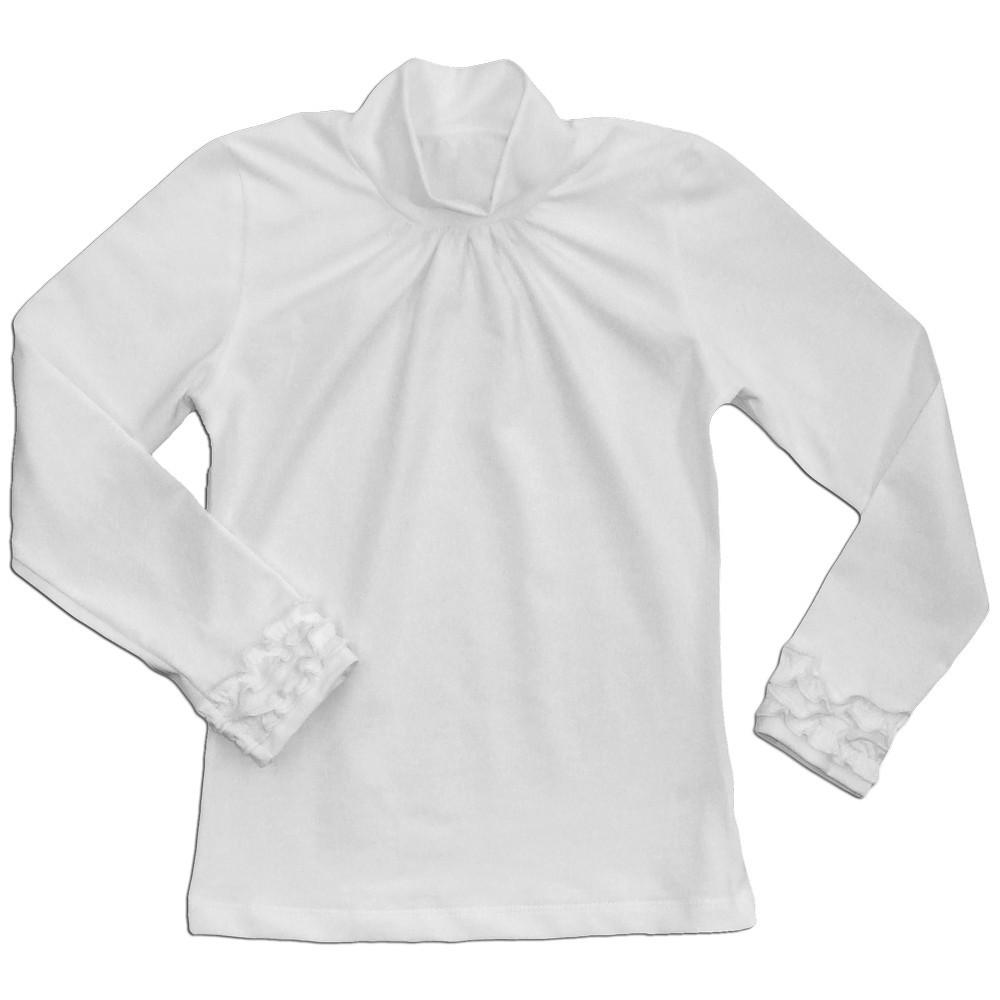 Блуза школьная для девочки Шик оптом