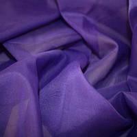 Тюль Вуаль т. фиолет, однотонная + высококачественный пошив