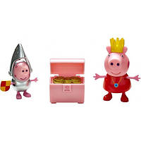 Peppa Pig Набор фигурок Peppa Pig Принцесса - Принцесса Пеппа и Сэр Джордж Сильвер (05866-3)