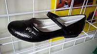 Стильные красивые школьные лаковые туфли на девочку ТОМ