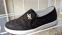 Модные  туфли - слипоны для школы на девочку W.niko