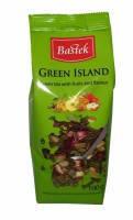 Чай зелений Bastek Black Island з фруктами і квітами, 100 гр