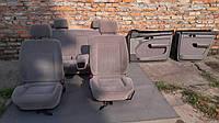 Светло-серый  салон с подлокотником (седан) Audi 100 A6 C4 91-97г