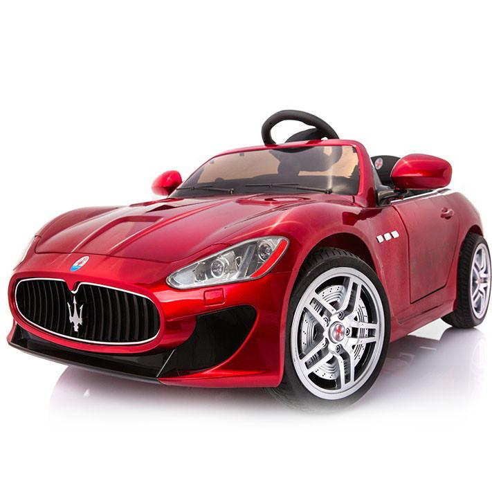 Детский электромобиль Maserati FT 6388: EVA, 2.4G, 7 км/ч - Бордовый- купить оптом