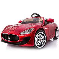 Детский электромобиль Maserati FT 6388: EVA, 2.4G, 7 км/ч - Бордовый- купить оптом, фото 1