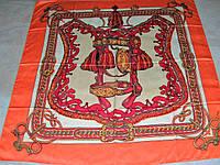Платок Hermes тонкий шёлк 100%  можно приобрести на выставках в доме одежды Киев