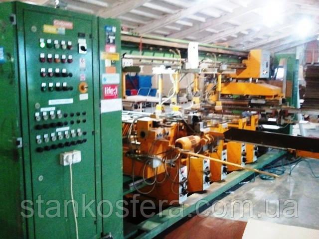 Сверлильно-присадочный станок бу Nottmeyer Komet-Super SP-N проходного типа