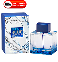 Мужская туалетная вода ANTONIO BANDERAS Blue Splash Seduction EDT 100 ml