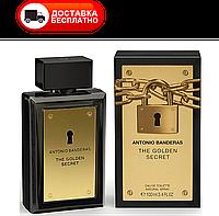 Мужская туалетная вода ANTONIO BANDERAS THE GOLDEN SECRET edt 100 ml