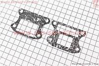Прокладка клапана лепесткового на скутер Honda DIO 50 AF18/27