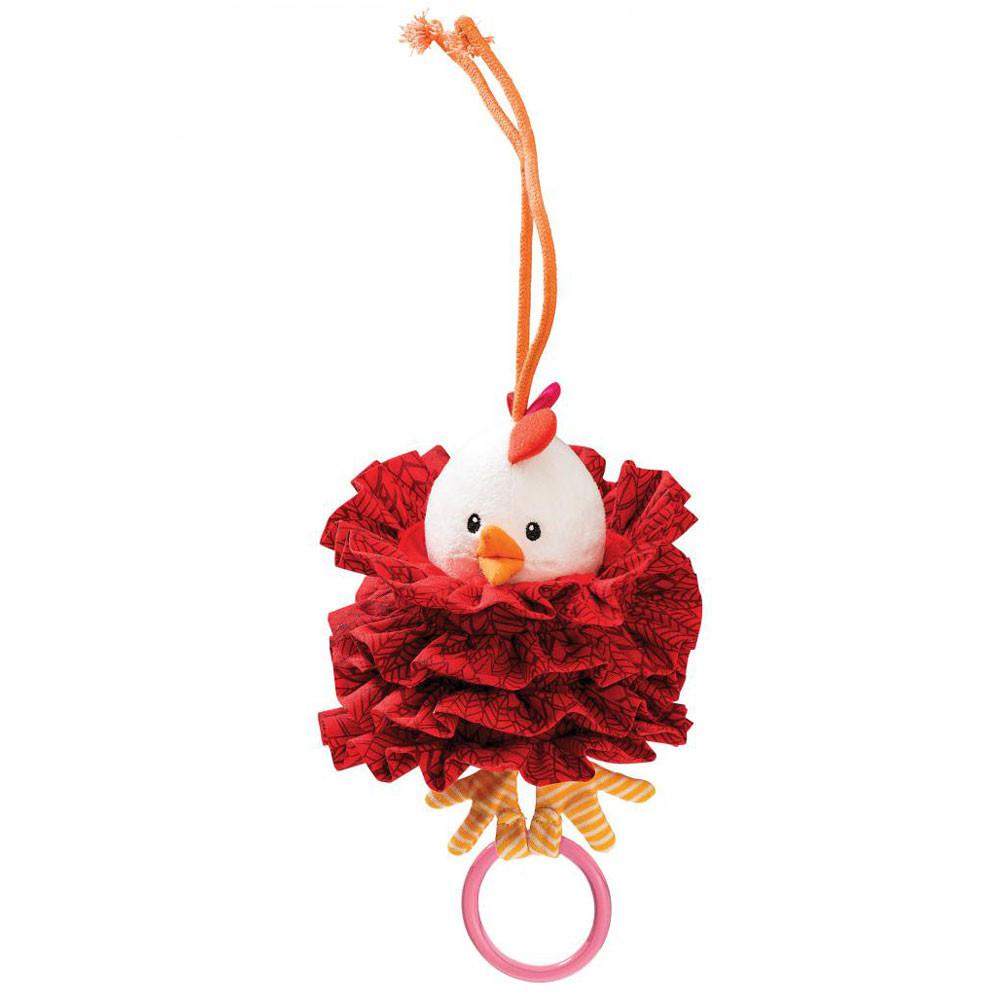 """Lilliputiens - Танцующая игрушка с кольцом """"Курочка Офелия"""""""