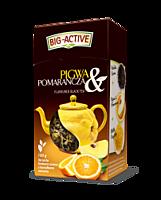 Чай чорний Big-Active з айвою і апельсином, 80 гр