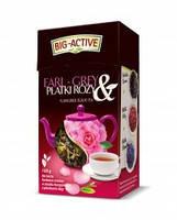 Чай чорний Earl-Grey Big-Active з пелюстками троянди, 80 гр