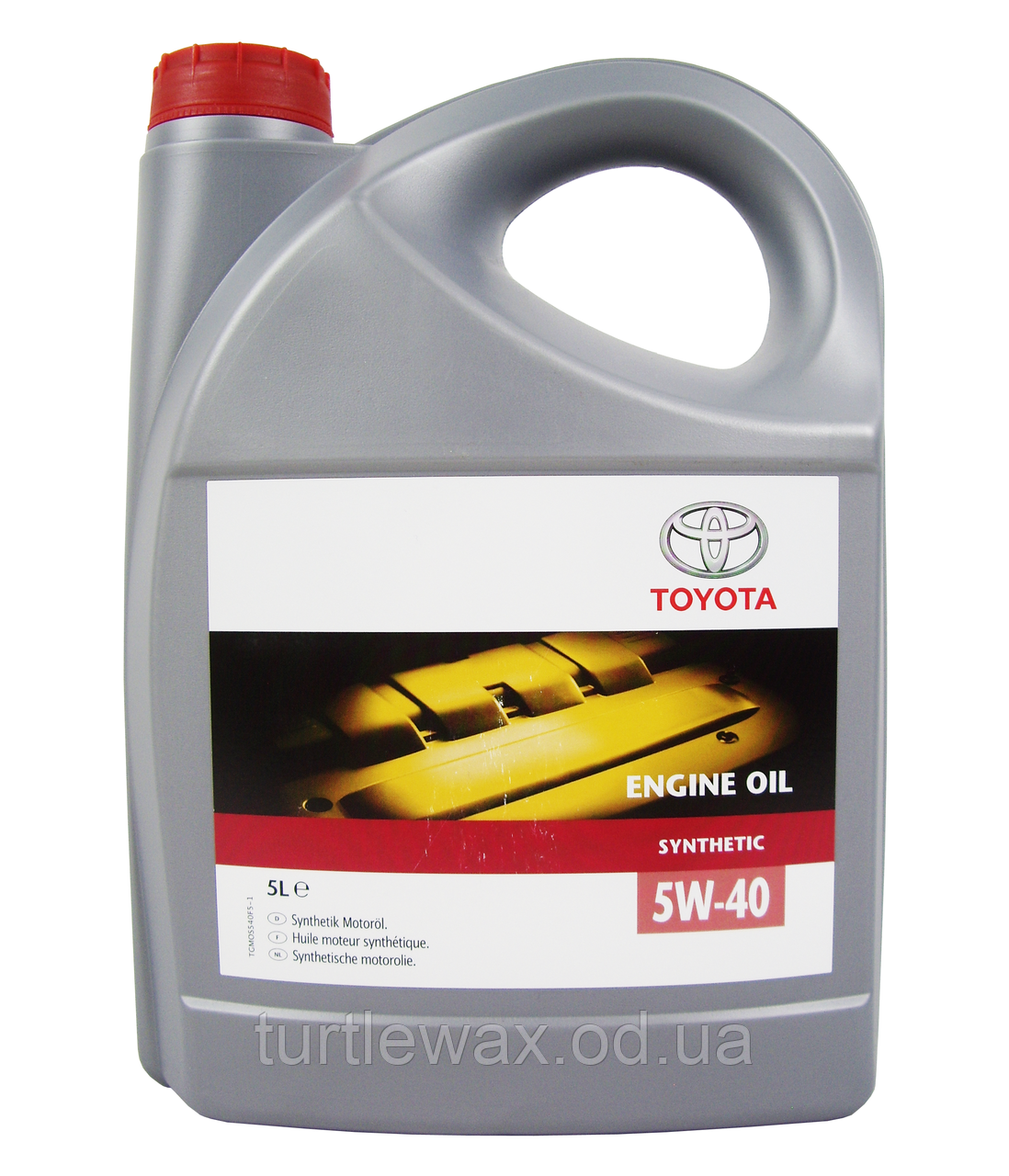 Масло моторное TOYOTA SYNTHETIC 5W-40  5л