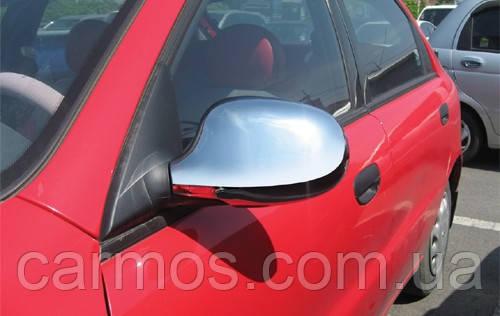 Хром накладки на зеркала Ланос / Сенс (Lanos/ Sens) ABS, Турция.
