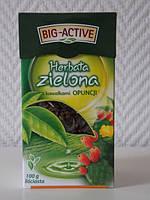Чай зеленый Big-Active с опунцией, 100 гр
