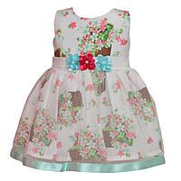 Платье для девочек на 9,12,24 месяца, Турция