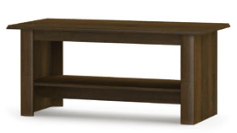 Журнальный стол с полкой Парма Мебель-Сервис