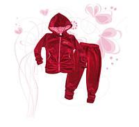 Костюм для девочек ТМ Фламинго, велюр (артикул 711-509)