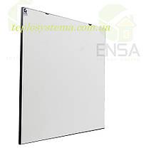 Инфракрасный керамический обогреватель - электрическая тепловая панель ENSA КЕРАМИК CR 500 W (белый) Украина, фото 3