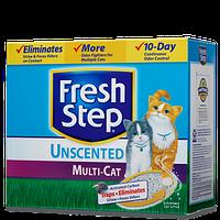 FRESH STEP (Фреш Степ) Multi-Cat наполнитель для домов с двумя и более кошками 6,34 кг