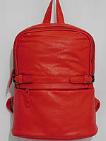 Рюкзак супер кож.зам красный, фото 1