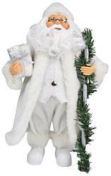 Дед Мороз под елку с посохом, 30,5 см.