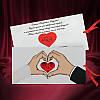 Романтичные приглашения на свадьбу, оригинальные свадебные пригласительные (арт. 2700)