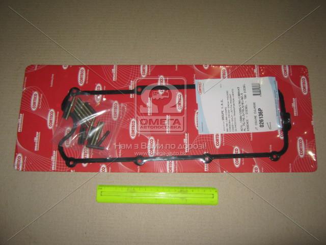 Прокладка крышки клапанной АУДИ, AUDI 1.6/1.8 RUBBER + ШПИЛЬКИ (пр-во Corteco)  026136P