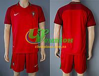 Футбольная форма для сборной Португалии Евро 2016 (домашняя)