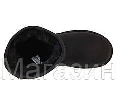 Мужские зимние сапоги угги UGG Australia Classic Short (Угги Австралия) черные, фото 3