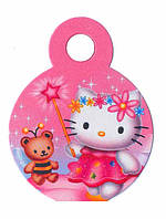 "Медали ""Hello Kitty"". В упак: 10шт. Диаметр: 75мм. Материал: Картон."