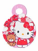 "Медали ""Hello Kitty 2"". В упак: 10шт. Диаметр: 55мм."