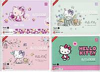 Альбом для рисования на спирале «Hello Kitty», 30 листов, на спирали