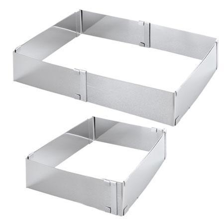 Форма для выпечки, раздвижная квадрат
