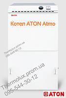 Напольный стальной котел АТОН АОГВД-30Е газовый дымоходный (Украина, Атонмаш)
