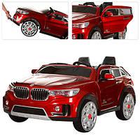 Детский электромобиль BMW X7 M 2768 EBLRS-3: 2 места, EVA колеса, 7 км/ч, 2.4G -Красный- купить оптом