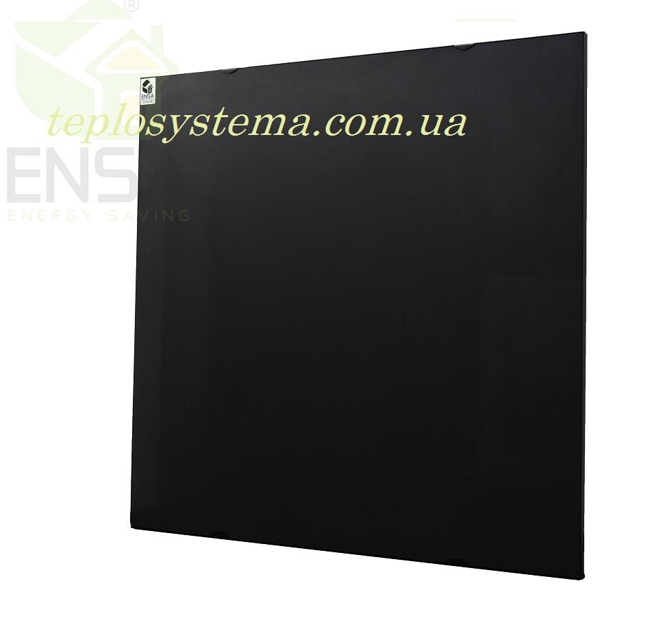 Инфракрасный керамический обогреватель - электрическая тепловая панель ENSA КЕРАМИК CR 500 B (черный) Украина