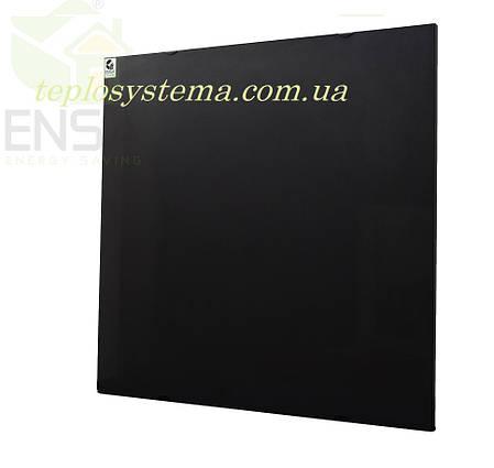 Инфракрасный керамический обогреватель - электрическая тепловая панель ENSA КЕРАМИК CR 500 B (черный) Украина, фото 2