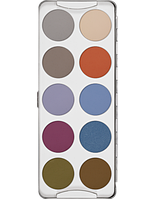 Палитра теней 10 цветов EYE SHADOW PALETTE  FASHION